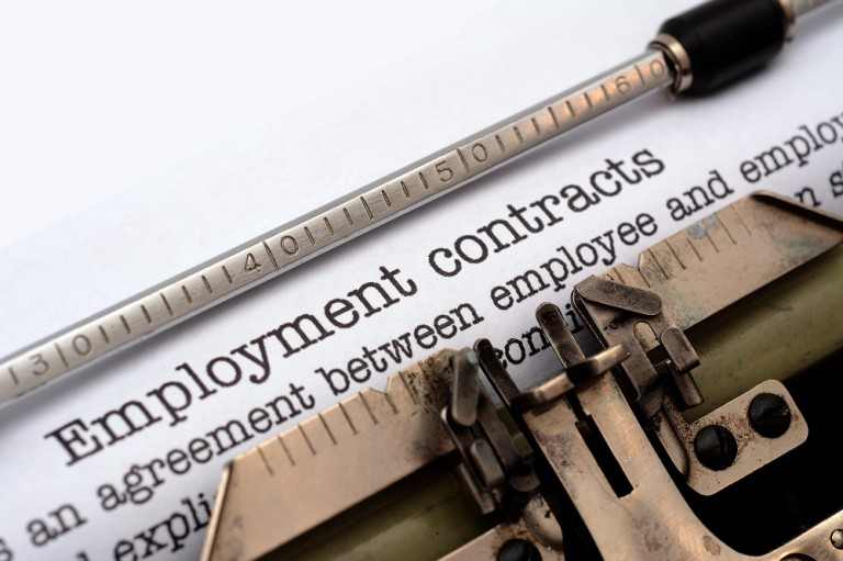 - Employment contract