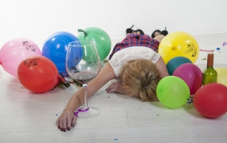 keeping your job after the office party